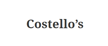 Costello's Jewellery